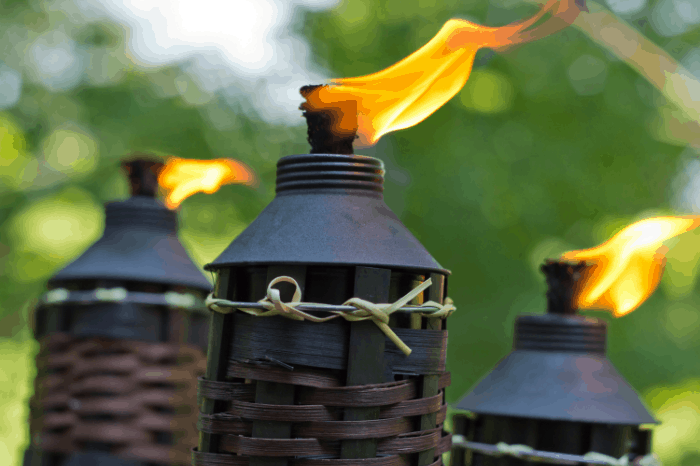 Tiki Torch Touch Up: How to Pick, Place, and Put Out Tiki Torches