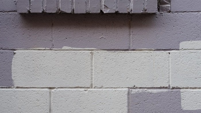 How To Paint Cinder Blocks